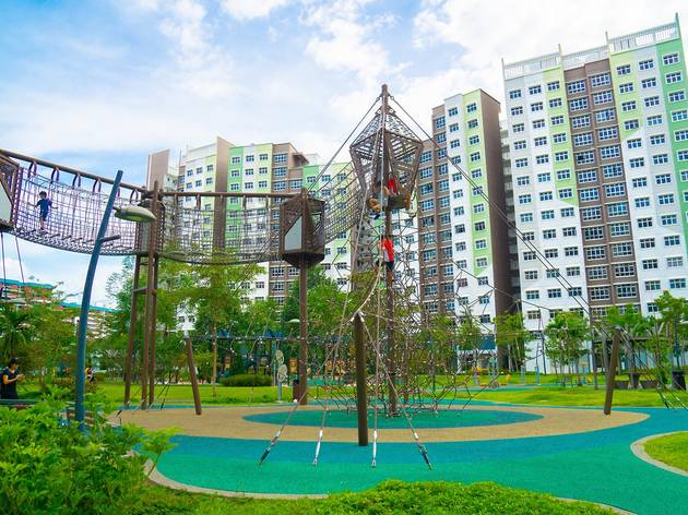 The best outdoor playgrounds in Singapore
