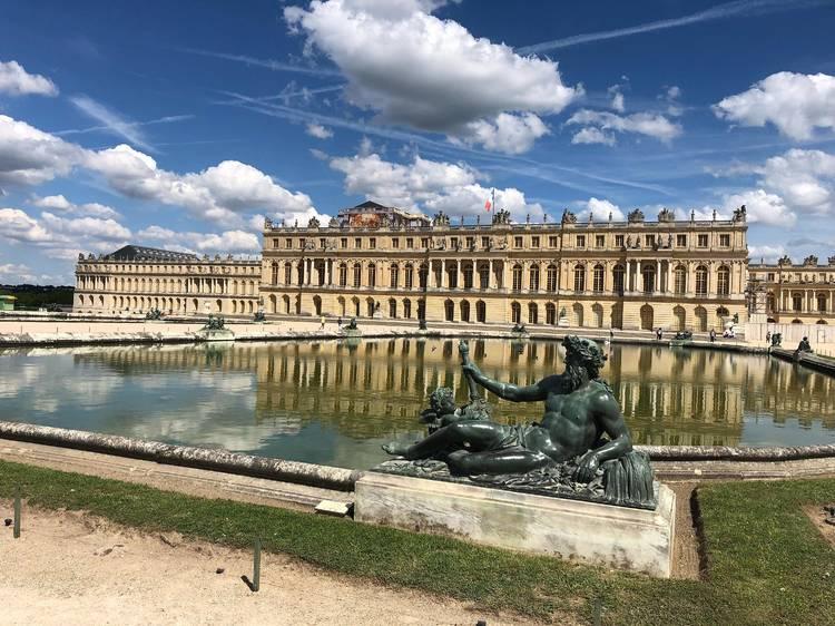 Jusqu'au château de Versailles via la Véloscénie