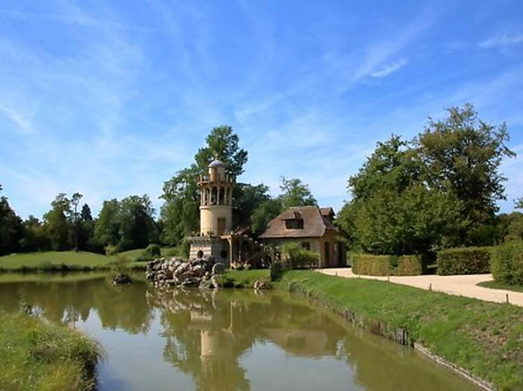 Le tour du Grand Canal jusqu'au hameau de la Reine, à Versailles