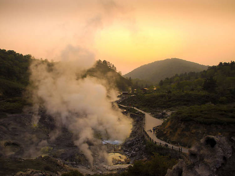 秋田県 玉川温泉
