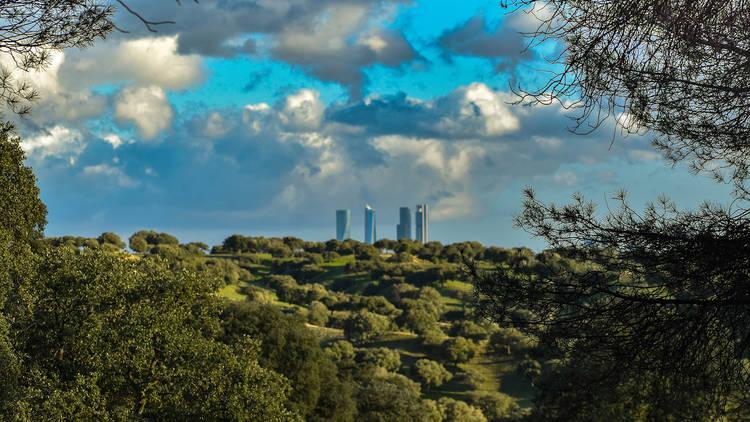 Vista desde el Monte El Pardo