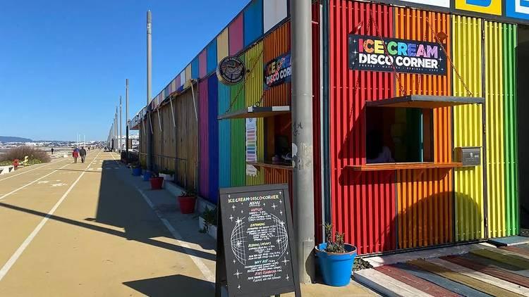 Ice Cream Disco Corner Dr Bernard