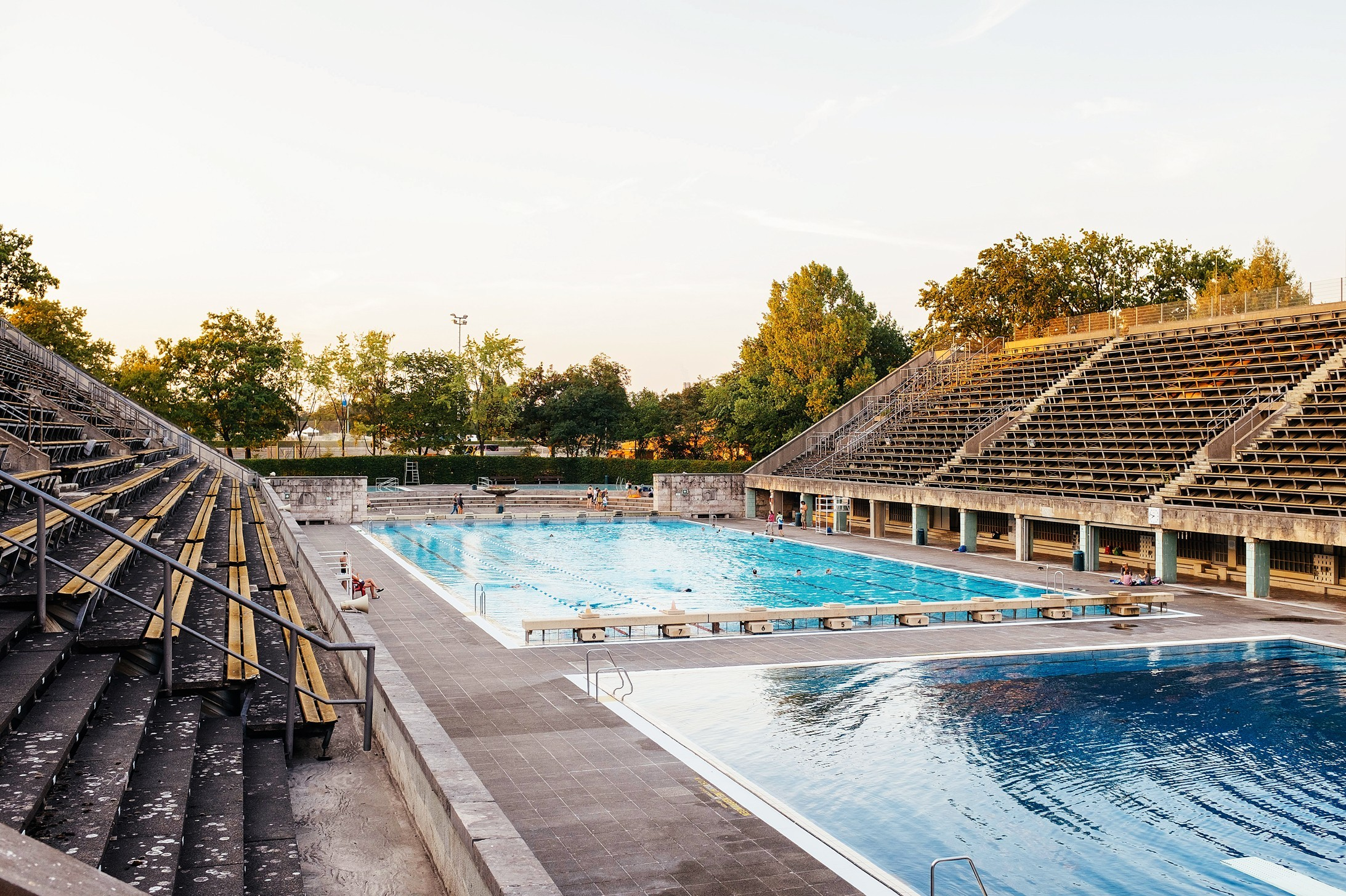 Olympiapark Schwimmstadion