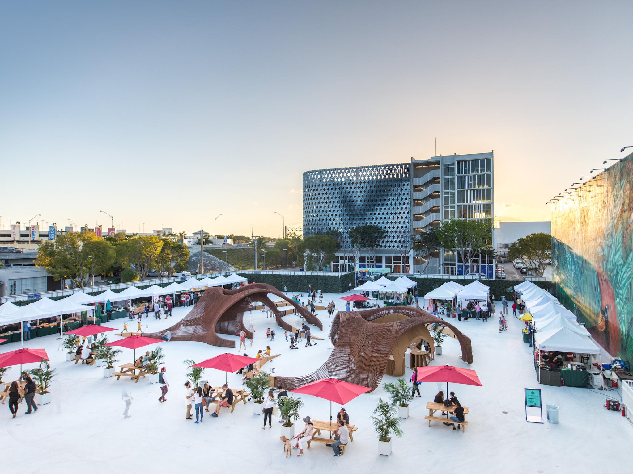Jungle Plaza Miami Design District