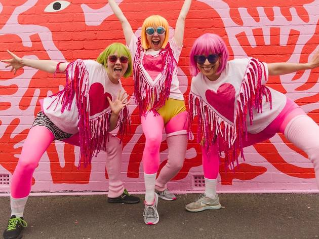 B.East Fest Loveheart Dancers