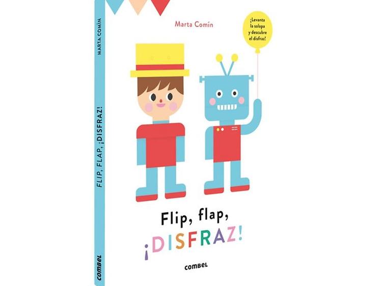 Flip, flap. ¡Disfraz!