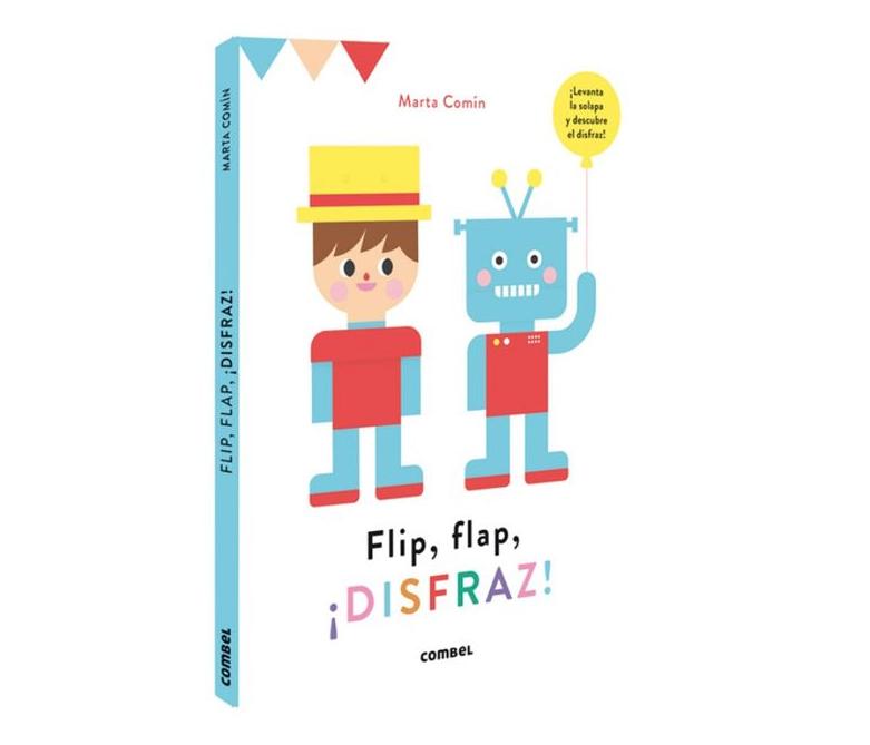 Libro infantil Flip, flap. ¡Disfraz!