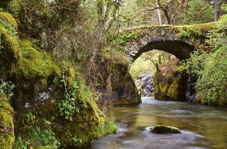 Puente de la Angostura. Valle alto del Lozoya. Rascafría