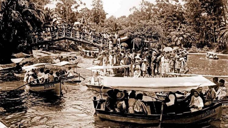 Patios das Antigas, Barcos, Lago, Jardim do Campo Grande