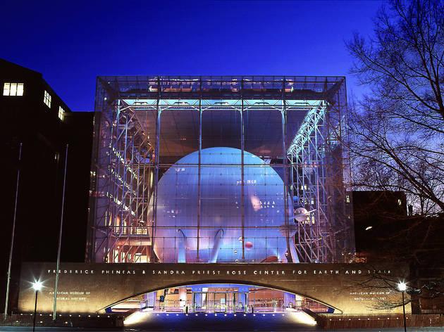 Hayden Planetarium at the American Museum of Natural History