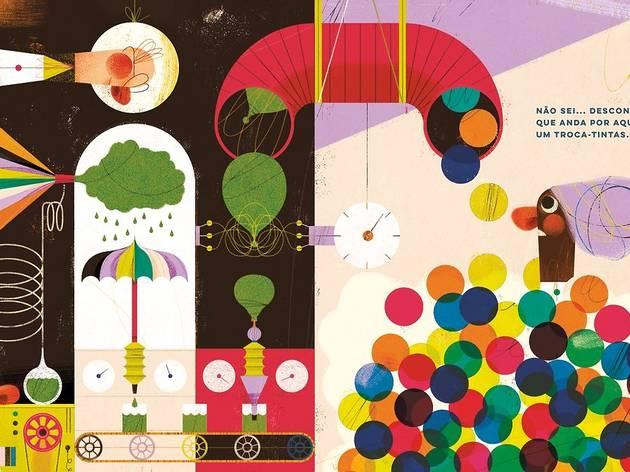 Livros para trocar as cores por miúdos