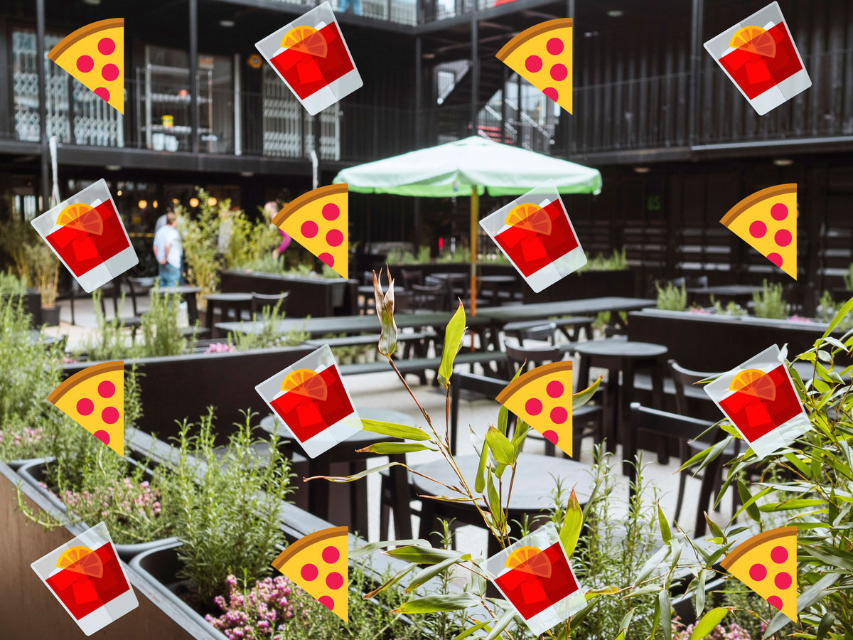 Just saying: this new Hackney pizza joint has a huge garden