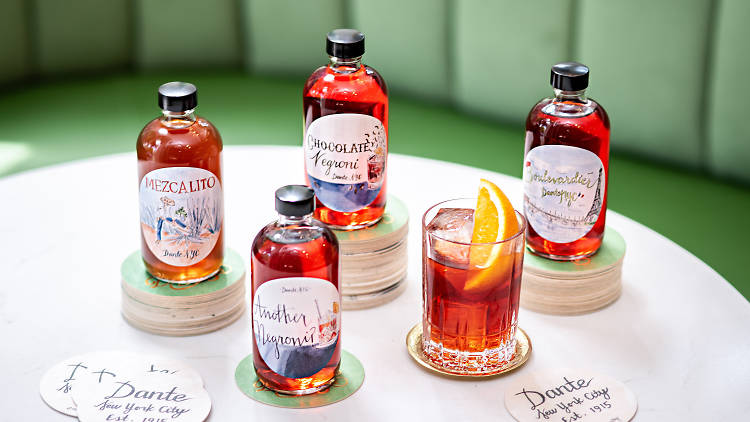 Dante to-go cocktails