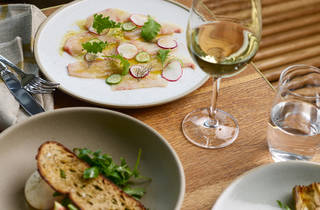 Lunch options at Crafted by Matt Moran