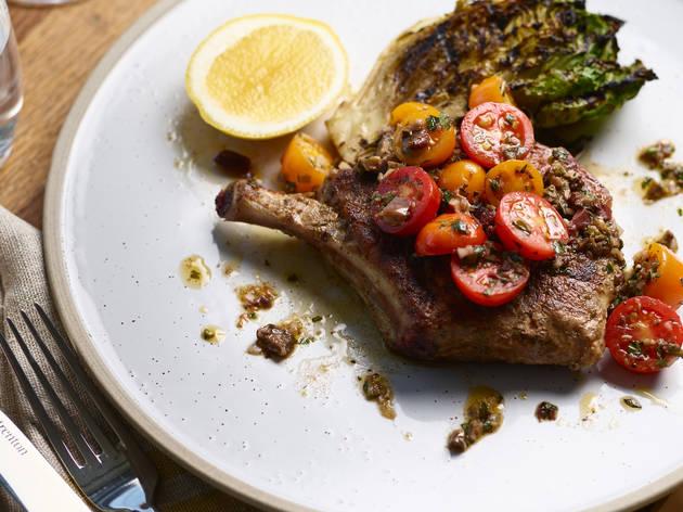 Steak at Crafted by Matt Moran