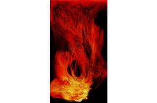 憑依する炎