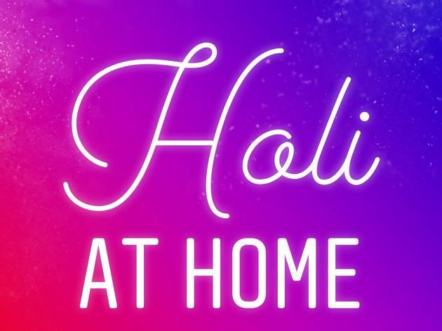 Holi at Home