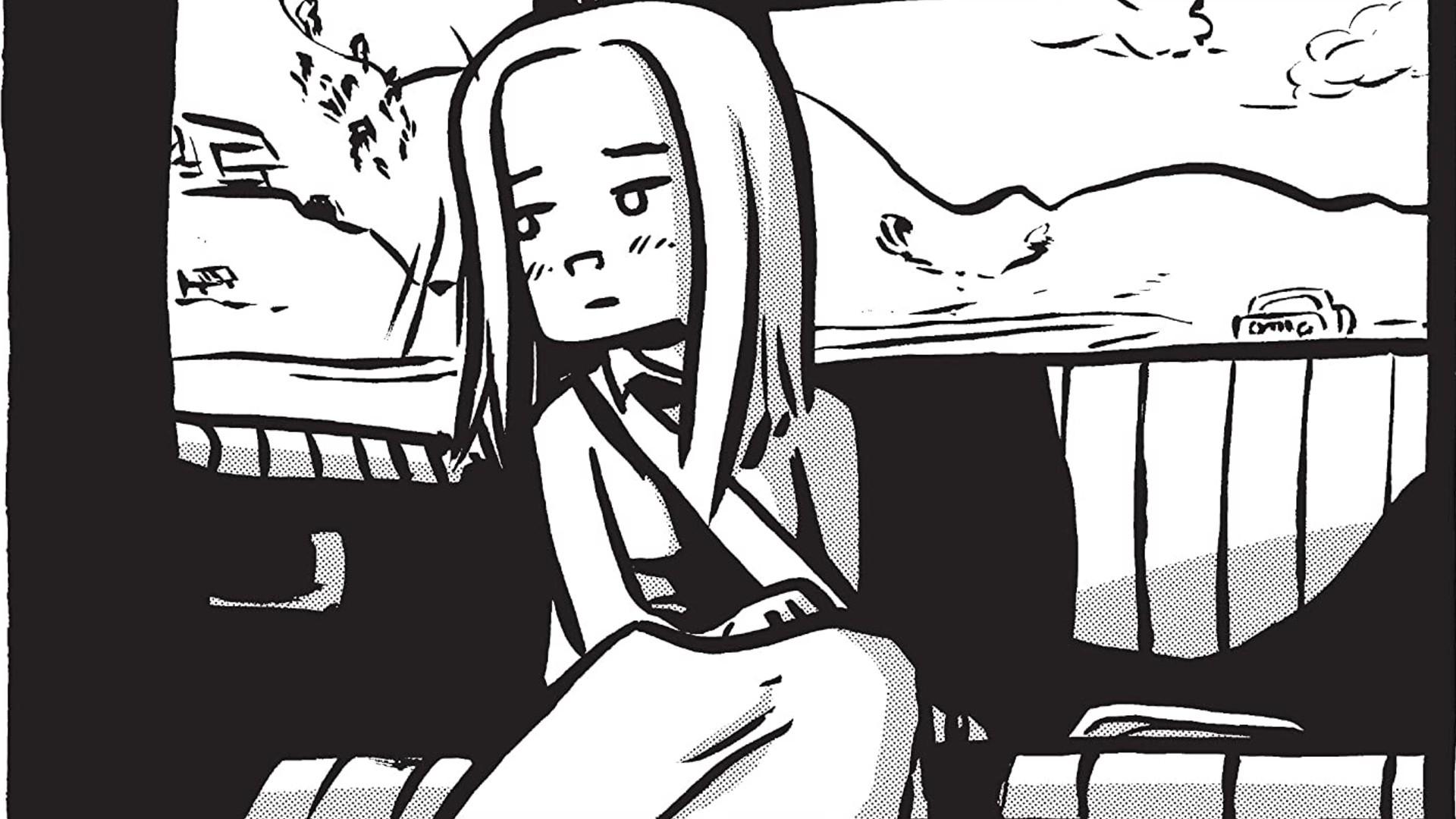 Ilustración del cómic Lost at Sea