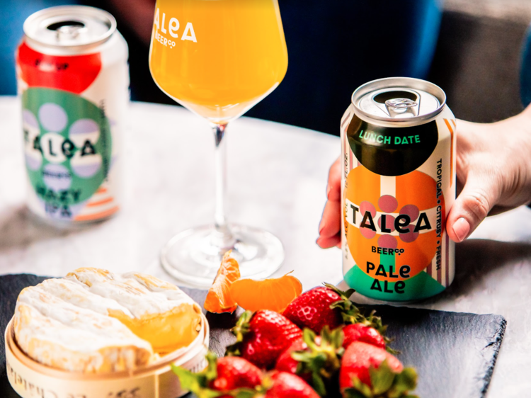 Meet friends at the Talea Beer Co. taproom
