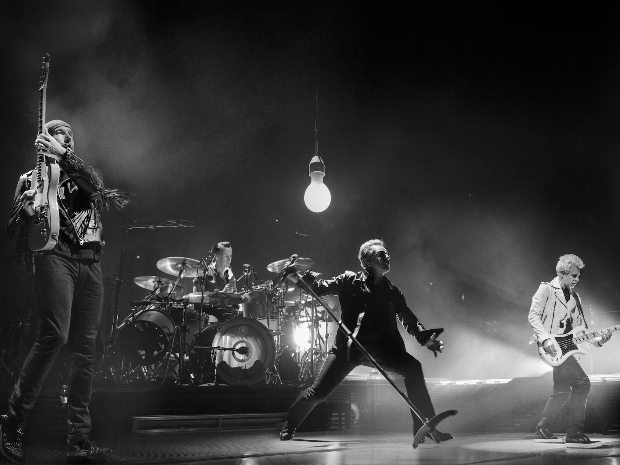 U2 presenta U2: The Virtual Road