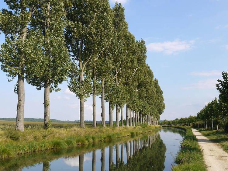 Le canal de l'Ourcq jusqu'en Seine-et-Marne