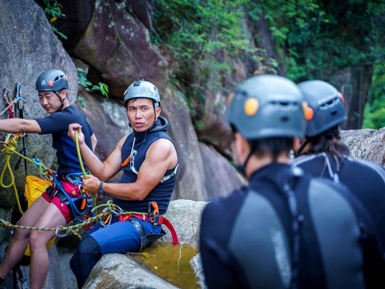 Hong Kong Rock Climbing Adventure