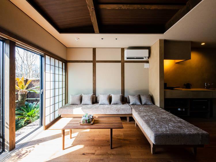 下北沢の温泉旅館、由縁別邸 代田に離れがオープン