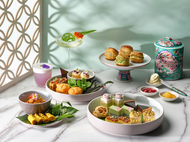 Peranakan Afternoon Tea