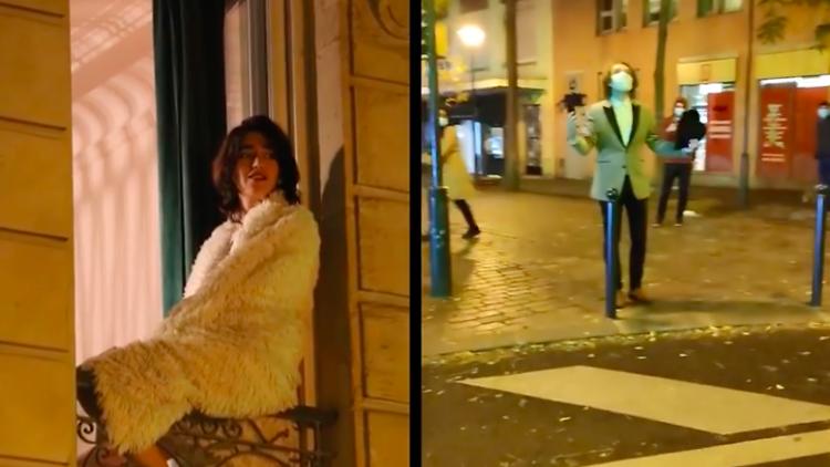 © Capture d'écran / Captation video de Balconfiné / Nuit Orange