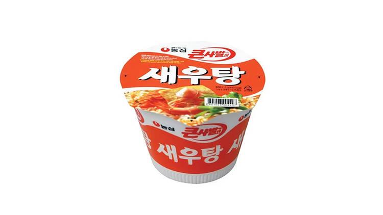 Compras, Supermercado Coreano, Nonshim Saewootang copo ramen, Woori