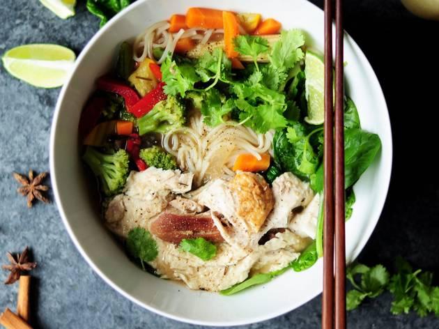 Generic noodle soup