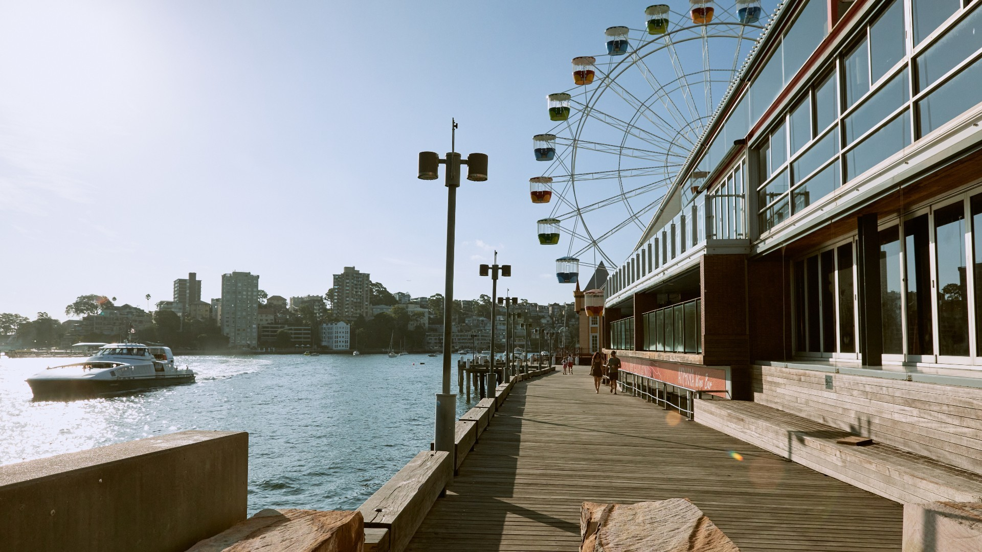 Wheel and pier