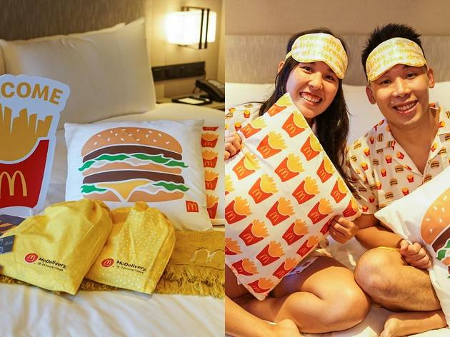 McDonald's launches a staycation package filled with themed loungewear and food vouchers