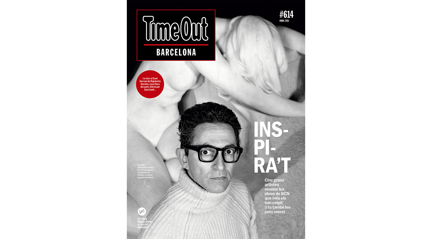 Portada abril 614 Time Out Barcelona
