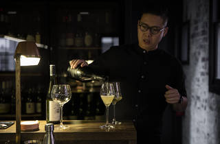 Victor Liong at Lee Ho Fook (Photograph: Parker Blain)