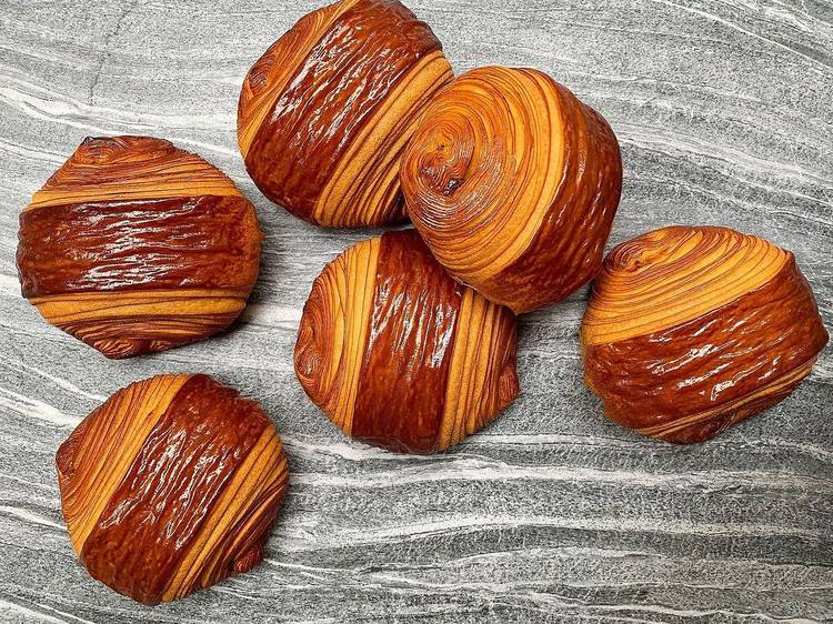 #FondDePlacard49 - Le pain au chocolat de Cédric Grolet