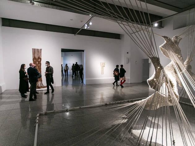Panorama Madrid 01. Aurèlia Muñoz. textura, tensión, espacio (1970-1985). Galería José de la Mano