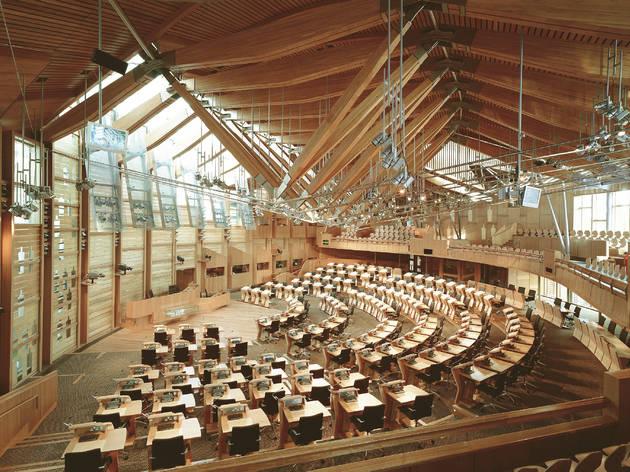 Parlament d'Escòcia, obra d'Enric Miralles