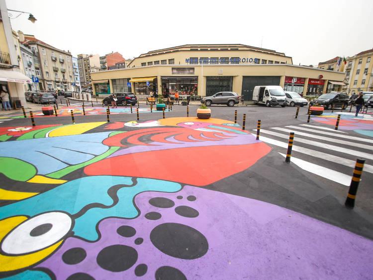 A Rua é Sua do Colectivo Artístico Boa Hora Estúdio
