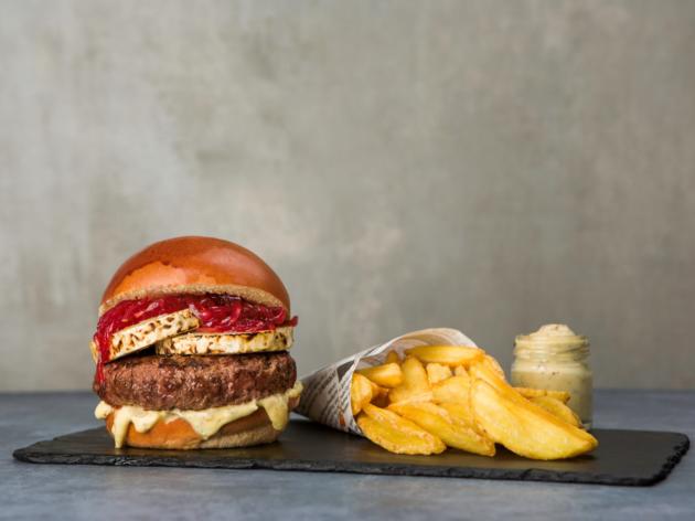 Este novo restaurante virtual tem Nasty Burgers com influências asiáticas