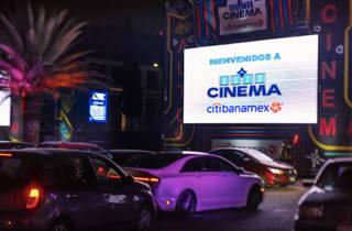Cartelera del Autocinema Citibanamex