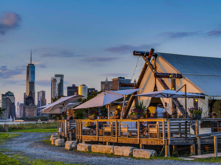 Go glamping on Governors Island, instead
