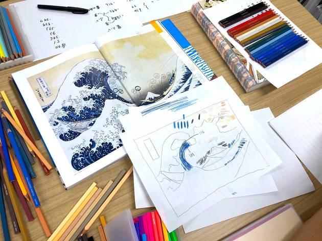 Hokusai Colour Pencils