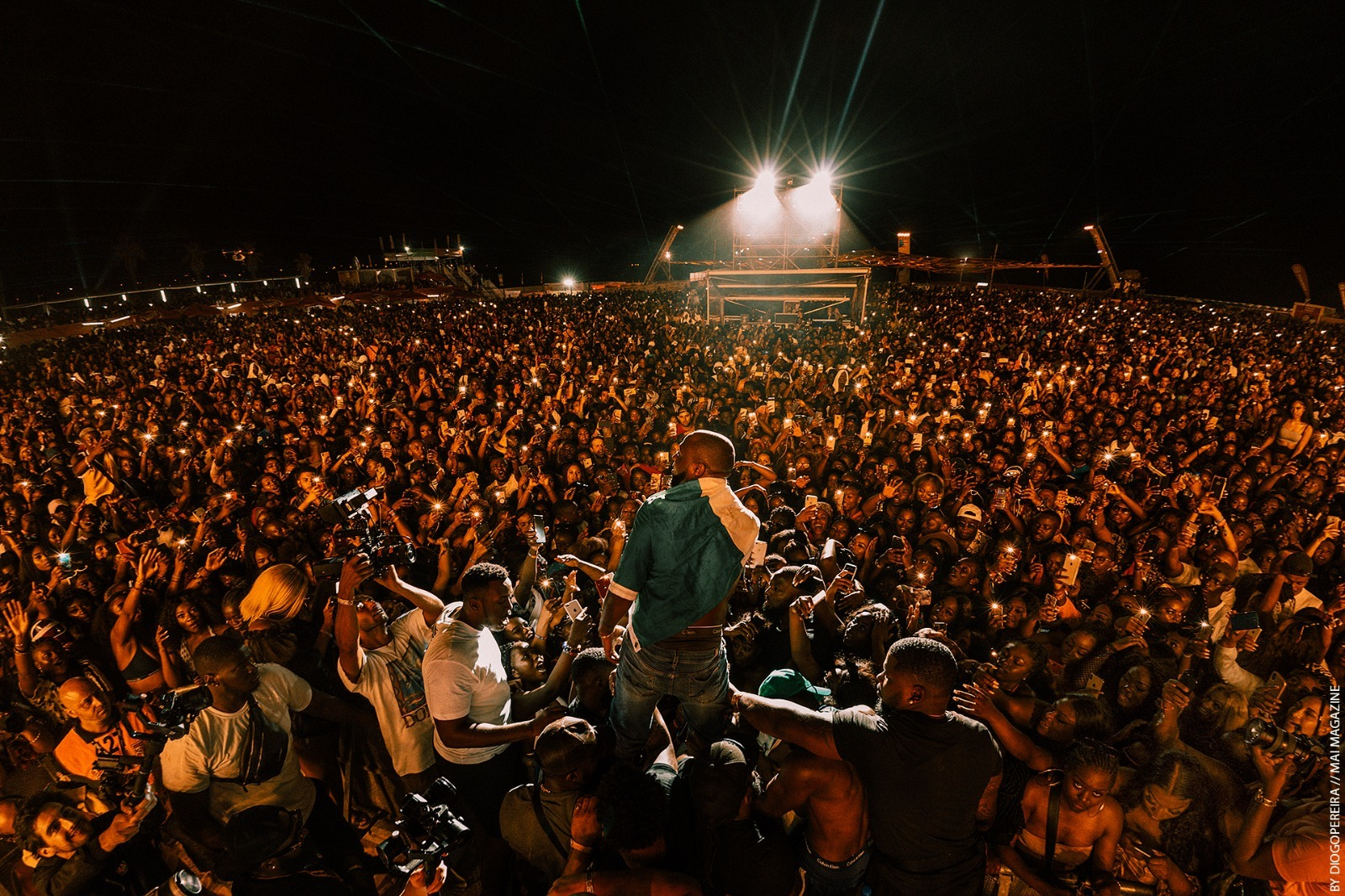 Davido at Afro Nation