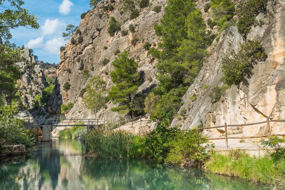 La Fontcalda, piscina natural de la Terra Alta