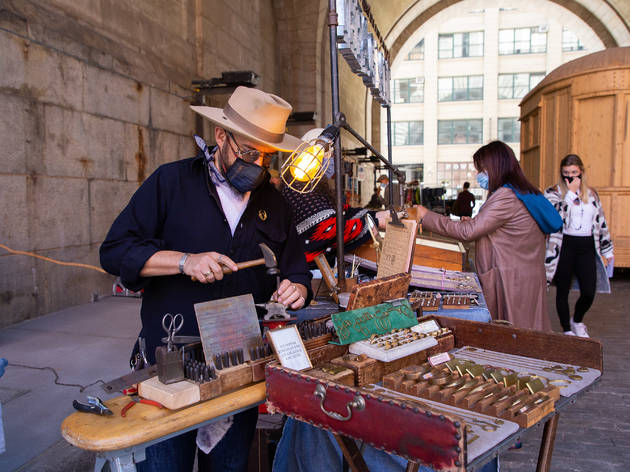 Brooklyn Flea on September 19, 2020