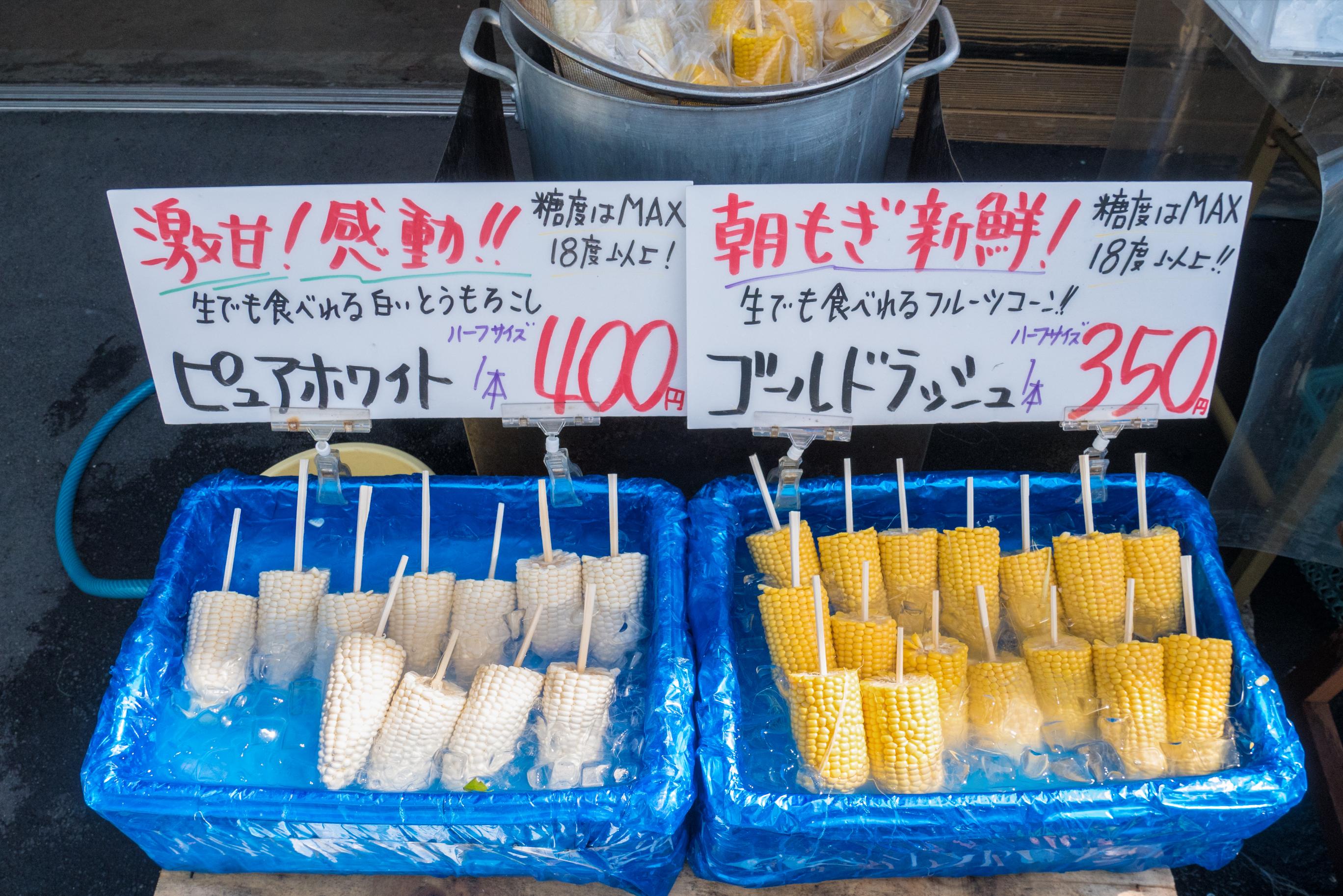 Hokkaido corn