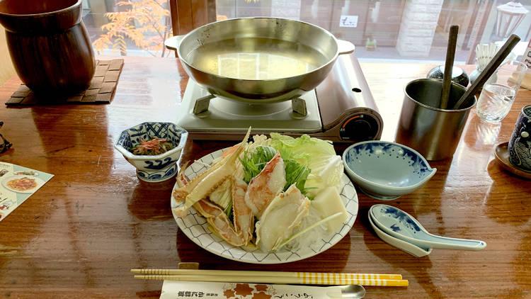 Hokkaido crab hot pot