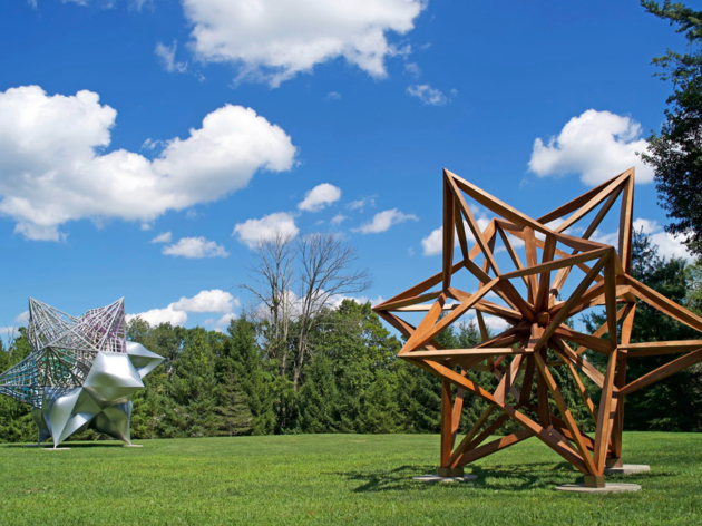 The Aldrich Contemporary Art Museum Frank Stella's Stars