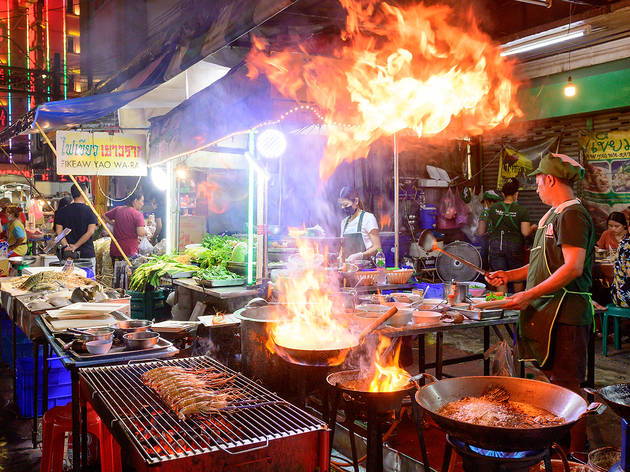 Bangkok's street food vendors